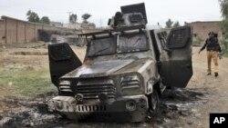 Нападение талибов на сторожевой пост в окрестностях Пешавара, Пакистан. 15 октября 2012 года