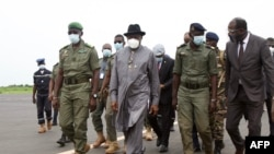 Tsohon Shugaban Najeriya Goodluck Jonathan a kasar Mali