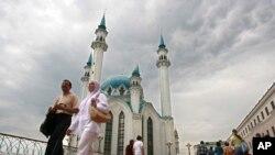 러시아 타타르스탄 공화국의 수도 카잔시. (자료사진)