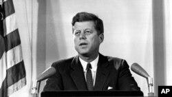 Tổng thống Mỹ John F. Kennedy.