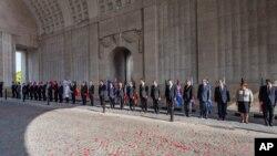 Evropski lideri učestvuju u ceremoniji obeležavanja stote godišnjice od početka Prvog svetskog rata