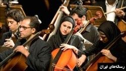 اجرای ارکستر سمفونیک تهران جنجالی شد؛ گروه بدون رهبر روی صحنه رفت