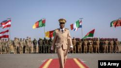 美军非洲司令部2020年2月主办的非洲军演闭幕式(美国陆军照片)