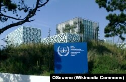 FILE - The International Criminal Court, The Hague.