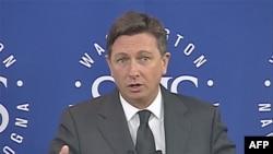Borut Pahor, premijer Slovenije