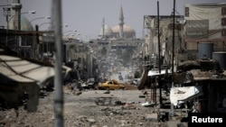 A view of a part of western Mosul, Iraq. May 29, 2017.