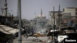 نمایی از غرب موصل - ۲۹ مه