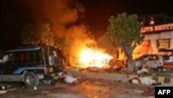 Взрыв в пакистанском отеле