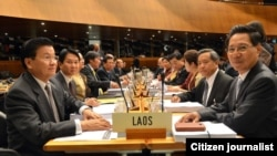 Lao WTO negotiation team