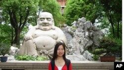 中国留学生李晓钰