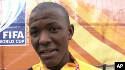 Eighteen year-old Sello Mahlangu is the coach of Team Alexandra