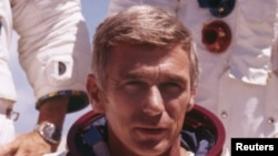 Astronaut Judžin Sernan