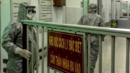 Khu cách ly bệnh nhân Covid-19 ở bệnh viện Chợ Rẫy, TP.HCM, 23/1/2020