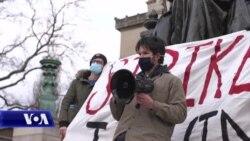 Mes vështirësive të pandemisë, studentët në grevë për pagesat e shkollimit