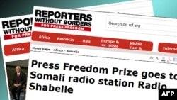 Çmimi për lirinë e shtypit u jepet një radiostacioni somalez e një gazetari të burgosur iranian