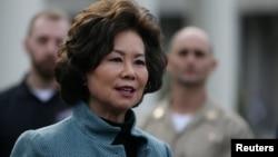 Bộ trưởng Giao thông Vận tải Hoa Kỳ Elaine Chao.