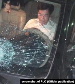 """Quan chức Nguyễn Văn Điều """"cố thủ"""" và """"chơi điện thoại"""" trong xe sau vụ tai nạn chết người ở Thái Bình, 8/5/2020"""