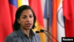 23일 수전 라이스 유엔 주재 미국 대사. (자료사진)