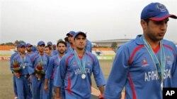 قهرمانی تیم کرکت جوانان ۱۹ ساله افغانستان در مسابقات تایلند