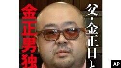 日本記者楊枝五味即將出版的有關北韓世襲統治家族的書籍以金正日長子金正男為封面