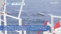 VOA60 Addunyaa - Up to 130 Dead as Boat Overturns in Mediterranean