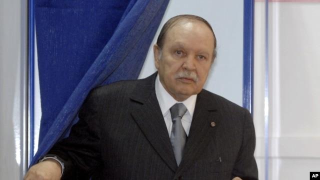 FILE - Algeria's President Abdel-Aziz Bouteflika.