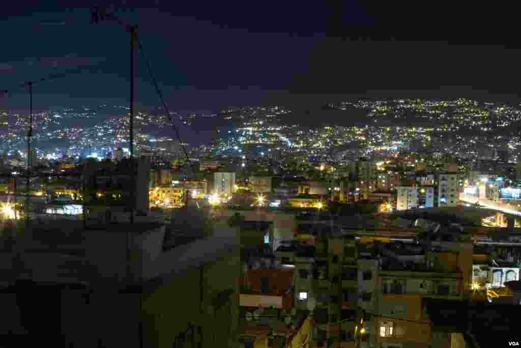 Beirut suffers from daily power cuts, but the situation is often worse away from Lebanon's cities. (VOA / J. Owens)