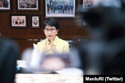 Menlu RI Retno Marsudi. (Twitter/@MenluRI)