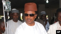 """FILE - Nigerian Senator Shehu Sani says """"some people highly placed in government have turned the whole insurgency into an enterprise for profit-making."""""""