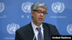 فرهان حق معاون سخنگوی آنتونیو گوترش دبیرکل سازمان ملل متحد - آرشیو