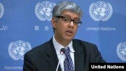 Juru bicara PBB Farhan Haq
