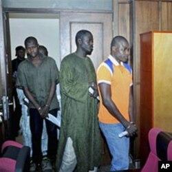 Wadansu da ake yiwa zargin cewa 'yan Boko Haram ne
