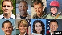 8 phi hành gia mới được NASA tuyển chọn.