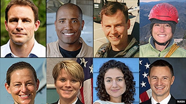 New astronauts selected by NASA