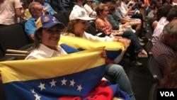 Comunidad venezolana del sur de Florida se reunió con legisladores demócratas y miembros del cuerpo diplomático del gobierno interino de Venezuela