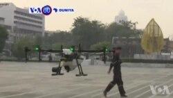 VOA60 Duniya: A Kasar Thailand Hukumomi Sun Fara Amfani Da Jirage Masu Sarrafa Kansu