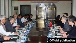 پاکستانی اور چینی وفد کی اسلام آباد میں ملاقات