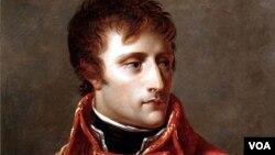 프랑스제국의 황제였던 나폴레옹 초상화.