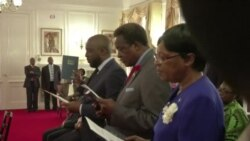 Zimbabwe President Swears in New Ministers Following a Cabinet Reshuffle