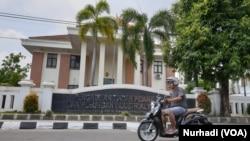Gedung Pengadilan Tindak Pidana Korupsi Yogyakarta. (Foto:VOA/ Nurhadi)