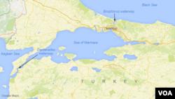 Bosfor və Dardanel boğazı. Türkiyə.