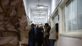 Egypt's army is overseeing the referendum vote, Cairo, Saturday, Dec. 22, 2012. (Yuli Weeks for VOA).