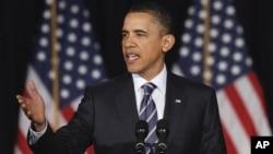 奥巴马总统周三在华盛顿公布他的削减赤字计划