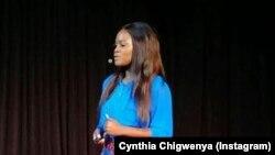 Chigwenya giving a Tedtalk in Johannesburg
