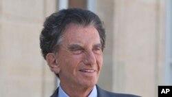 L'ancien ministre français de la Culture Jack Lang a Paris, France, 2 mai 2017.