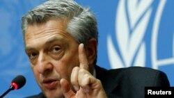 U.N. High Commissioner for Refugees ဒုကၡသည္မ်ား ဆိုင္ရာ ကုလသမဂၢမဟာမင္းႀကီးFilippo Grandi