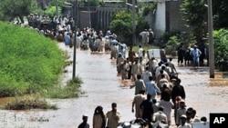 پاکستان میں تباہ کن سیلاب کے متاثرین