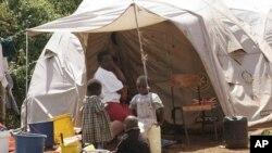 Deslocados internos, vítimas da seca e da fome no Quénia