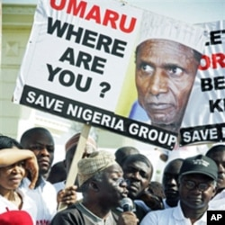 A protest in Abuja over a power vacuum created by the absence of President Umaru Yar'Adua, who was away for 7 weeks receiving treatment in Saudi Arabia (File)