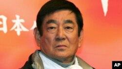 """Ken Takakura en una foto de 2005 cuando promovía la cinta """"Qian Li Zou Dan Qi,"""" que significa Viajando por 500 kilómetros."""
